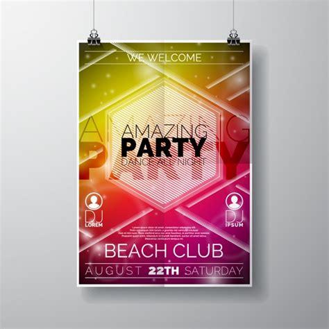 Plakat Design by Poster Design Vector Free
