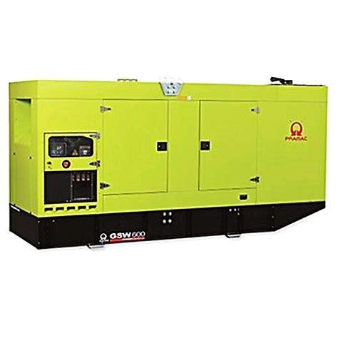 pramac gsw600v diesel generator volvo engine pramac