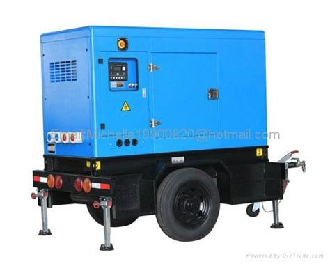 deutz diesel generator with mobile trailer mounted ip d