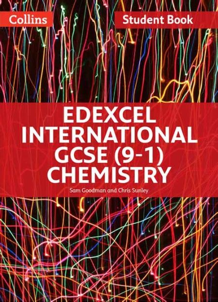 edexcel international gcse 9 1 chemistry student book the igcse bookshop