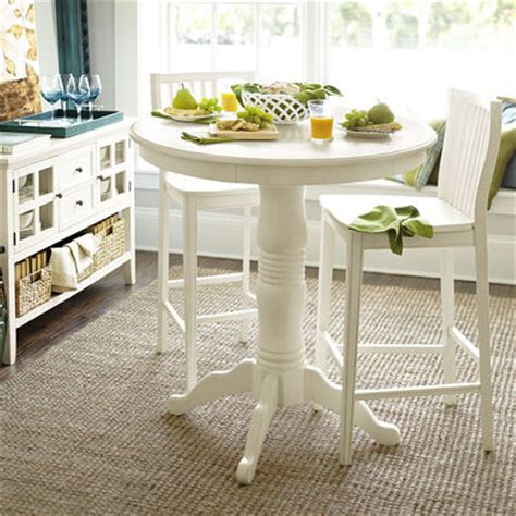Pier One Bar Table Ronan Bar Table Set Antique White