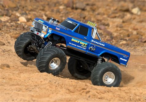 original bigfoot monster truck traxxas bigfoot 1 10 no 1 the original monster truck rtr