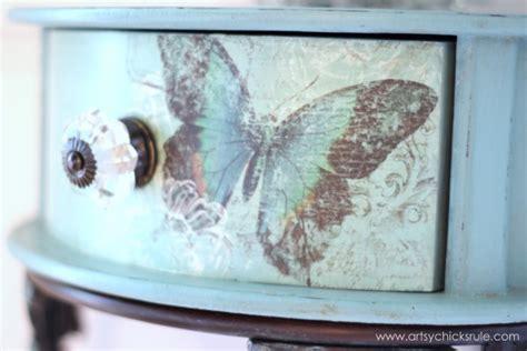 Decoupage Paint - butterflies chalk paint a decoupage artsy