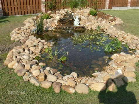 Backyard Pond Ideas Small Small Pond Ideas Backyard Landscaping Gardening Ideas