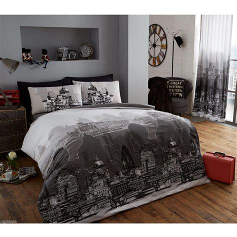 bedroom covers london bedding single duvet cover sets city landmarks big