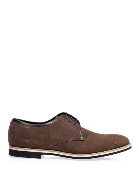 14 Sergio Shoes by Sergio Roger Suede Derby Shoes In Brown For Lyst