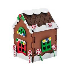 5 75 quot foam gingerbread house christmas diy craft kit
