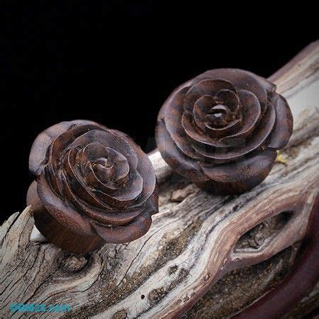 Rosebuds For Your Ears by 17 Best Images About Wood Plugs Hangers On