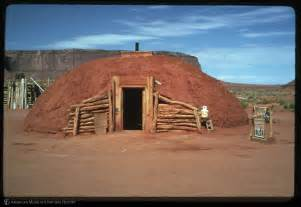 navajo homes amnh digital special collections navajo log and