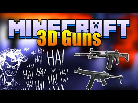 Pvg 107 Lengan 3 4 by Wip 1 7 10 New Stefinus 3d Guns Minecraft Mod