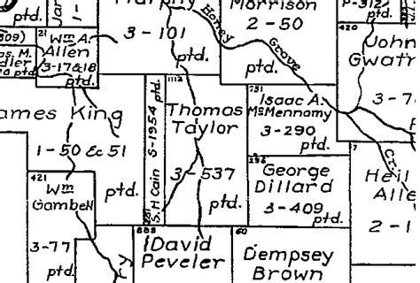 Fannin County Court Records A Description Of Original Land Owner Maps