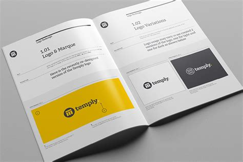 Brand Manual Template On Behance Brand Manual Template