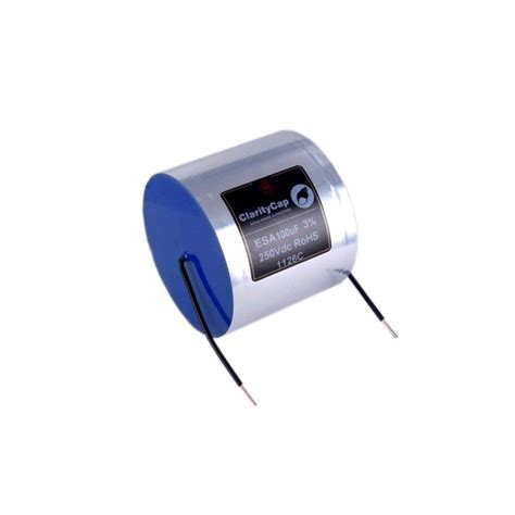 is capacitor used in dc claritycap capacitor esa 250v dc 120 0 181 f audiophonics