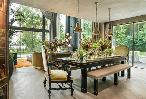 i kate house supermodel kate moss interior designing dining room