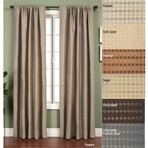 108 panel curtains jaipur circle rod pocket 108 inch curtain panel
