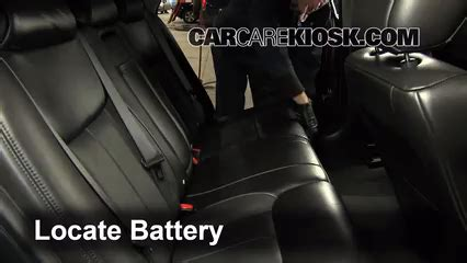 cadillac dts battery battery replacement 2006 2011 cadillac dts 2006