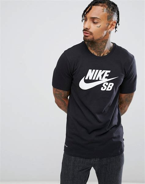 Tshirt Nike Sb Imbong mychicpicks nike sb logo t shirt in black in black 821946 013 find and compare your style
