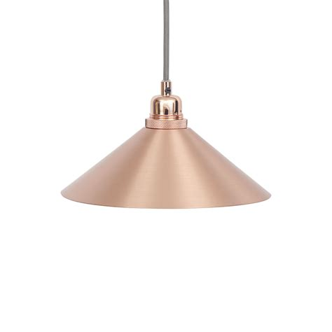 Buy Pendant Light Buy Frama Copper Cone Pendant Light Small Amara