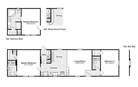 palm harbor mobile home floor plans view the woodland i floor plan for a 992 sq ft palm harbor