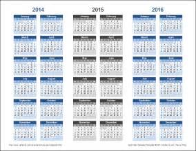 multi year calendar template 3 year calendar template for excel