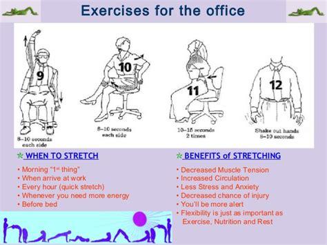 benefits of stretching before bed pc ergonomics by muhammad fahad ansari 12ieem14