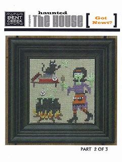 haunted house 2 doll part cross stitch dollhouses haunted house