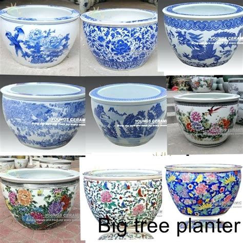 large ceramic planter ceramic flower pots wholesale in