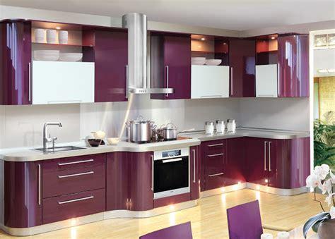 purple kitchen designs style meuble cuisine quel meuble de cuisine choisir