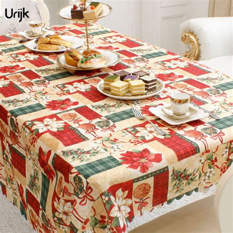 new year cloth decoration urijk 1pc new year home decoration table cloth