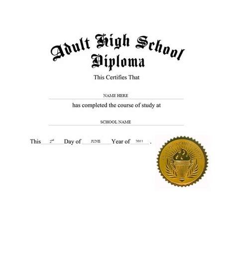 free printable high school diploma templates 30 real diploma templates high school college