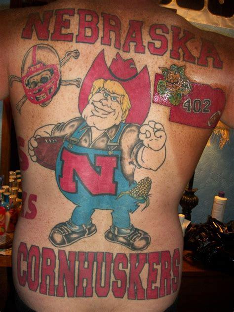 nebraska tattoo go big husker spot nebraska football network