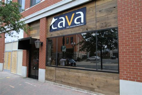 canva restaurant cava restaurant to open on saturday arlnow com