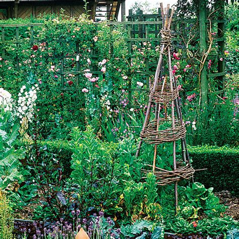 how to build a trellis for climbing plants build a tipi for climbing plants sunset