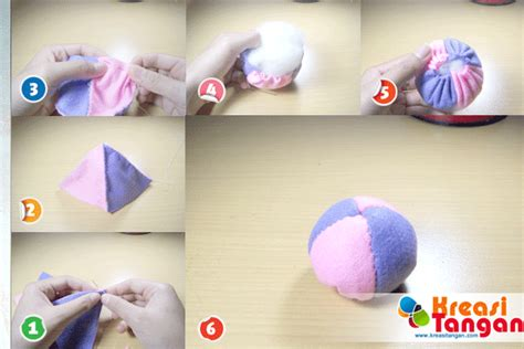langkah membuat video tutorial tutorial cara membuat kerajinan tangan dari kain flanel