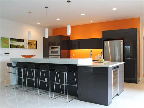 modern kitchens pictures kitchen modern kitchen colors simple orange modern