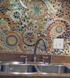 Mosaic Tile Backsplash Kitchen Ideas by Mosaic Backsplash Curbly