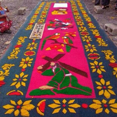 alfombras semana santa guatemala alfombras semana santa en guatemala pinterest
