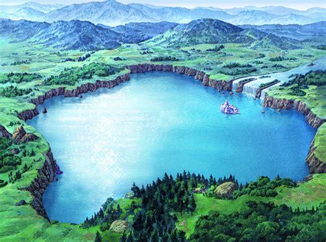 lake illustration suikoden  art gallery