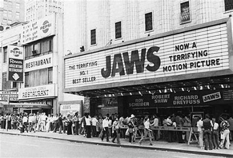 plymouth elementary school utah premier of jaws in 1975 at a theater in usa