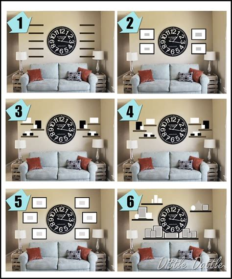 how to decorate a large wall in living room gallery wall ideas to transform any room jenna burger