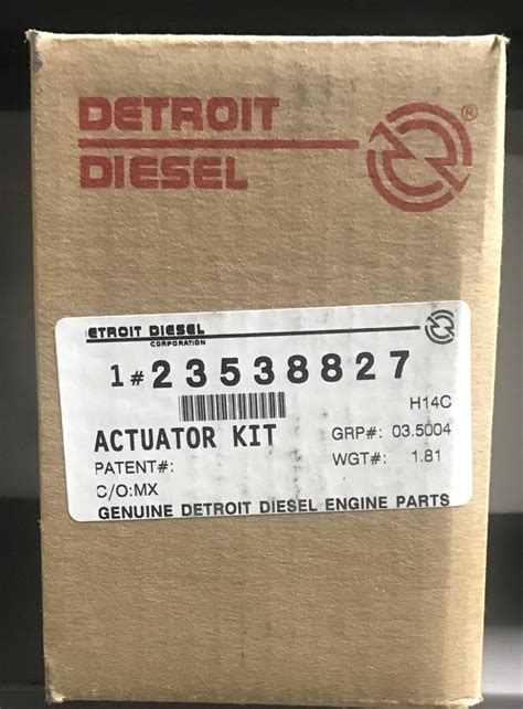 dde  actuator kit pacific power group