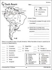 map scale worksheet 3rd grade map reading activities
