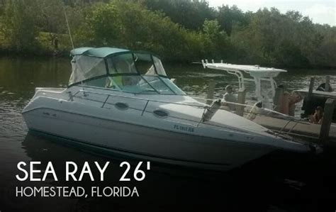 boats for sale homestead florida for sale used 1996 sea ray 250 sundancer in homestead