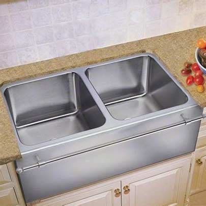 stainless steel apron with towel bar culinary gourmet stainless steel kitchen sinks