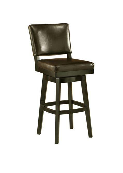 Black Swivel Bar Stool Richfield Swivel Counter Stool Feher Black Brown Finish Rc 219 26 Fb 867 Decor South