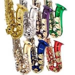 Alto saxophone colors