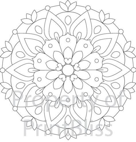 flower mandala coloring pages printable 2 flower mandala printable coloring page coloring