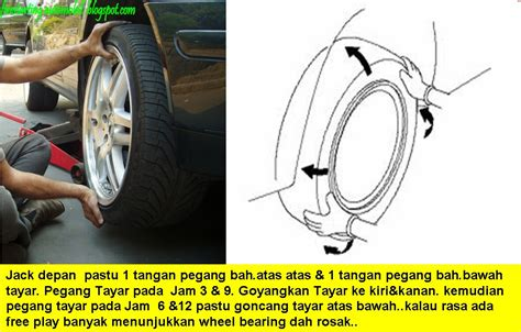 Bearing Tayar Saga Flx Starting Automobil Diy Wheel Bearing Kereta