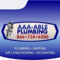 Able Plumbing And Heating by Aaa Able Plumbing Heating Sewer And Drain Cleaning