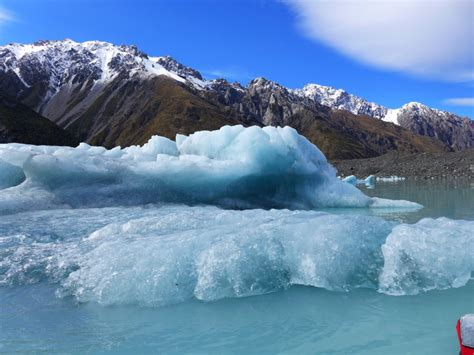 lake boats nz floating with glaciers tasman lake boat tour